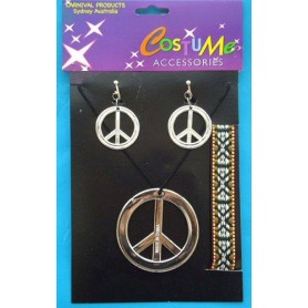 Hippy Costume Jewellery Set