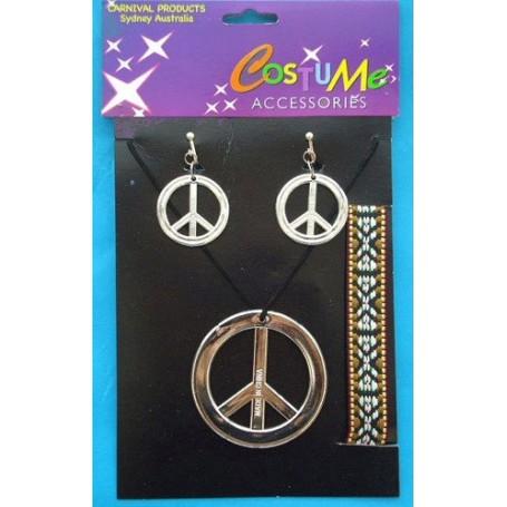 Hippy Costume Jewellery Set