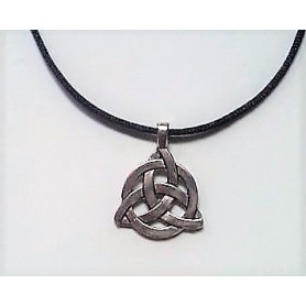 Celtic Triquetra Trinity Knot Pendant Necklace