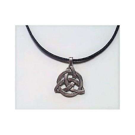 Celtic Triquetra Trinity Knot Pendant Necklace