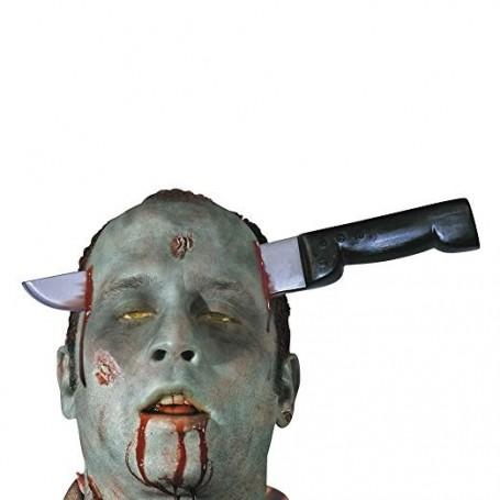 Zombie Knife-thru-head Accessory