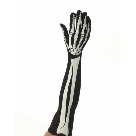 Skeleton Long Gloves - Bone Collection by Forum - Ladies 14+