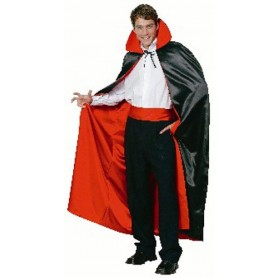 Deluxe Reversible Satin Dracula Cape