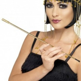 Gold Telescopic 20s Flapper Cigarette Holder