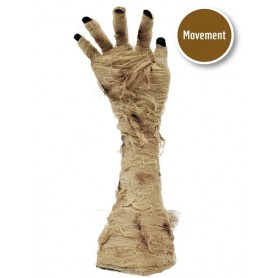 Moving Mummy Hand Animated Halloween Prop