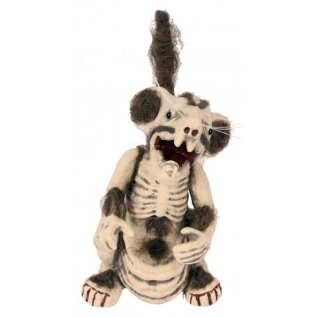 Zombie Sewer Rat Standing - 30cm