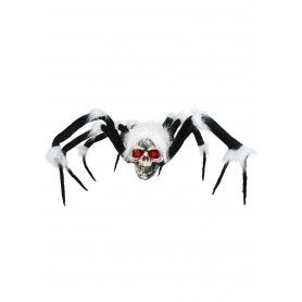 Flea The Spider With Skull and Light up Eyes