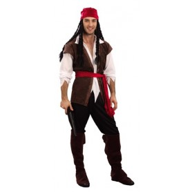 Pirate Deck Mate - Adult Costume