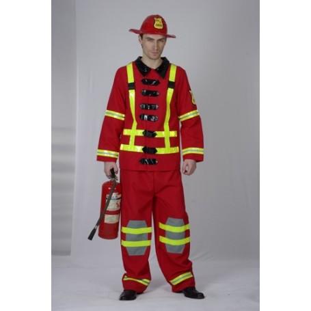 Fireman - Adult Costume (Medium/Large)