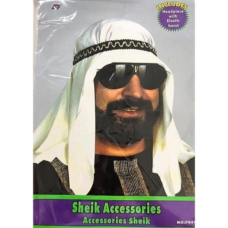 Arab Sheikh Head-cover Costume Set