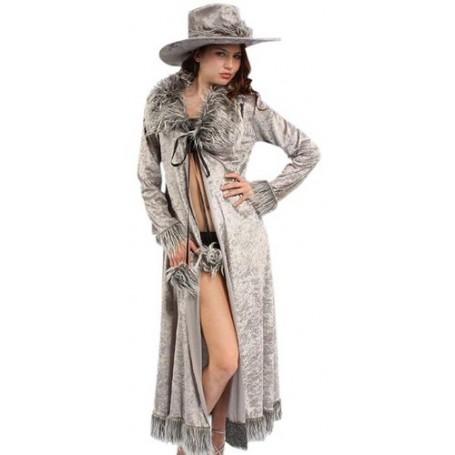 Pimpette (Coat and Hat) - Adult Costume