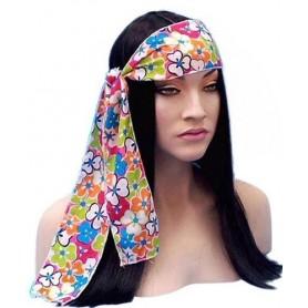 Headband - Flower Power Hippie Head tie