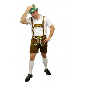 Oktoberfest Beer Man Brown