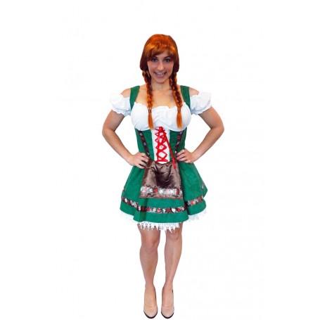 Womens Gretel Girl Oktoberfest Costume - Large