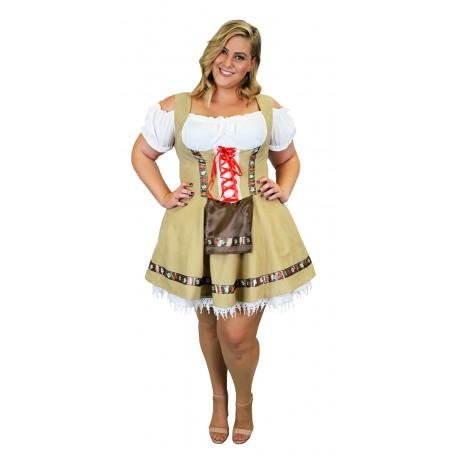 Women's Alpine Beer Girl Costume - Extra Large