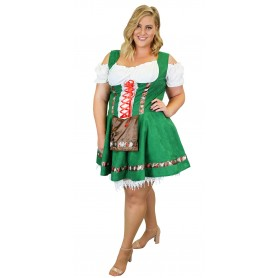 Womens Gretel Girl Oktoberfest Costume - Extra Large
