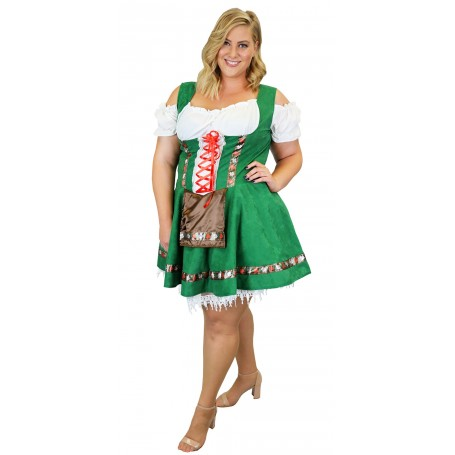 Womens Gretel Girl Oktoberfest Costume - Extra Large