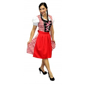Oktoberfest Beer Maiden Red - Med/Large
