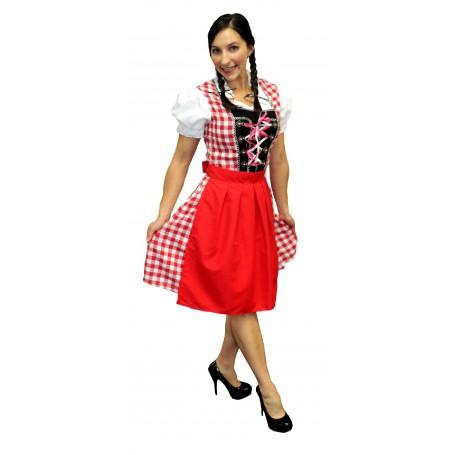 Oktoberfest Beer Maiden Red - Med/Large