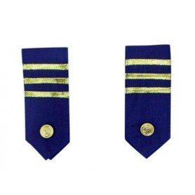Military Epaulettes Dark Blue (Pair)
