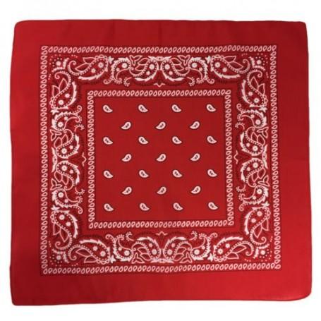 Paisley Bandana - Red