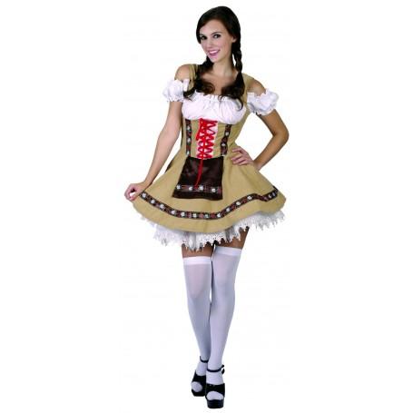 Women's Alpine Beer Girl Costume - Large