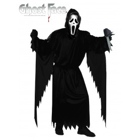 Scream Ghost Face with Robe Adult Costume