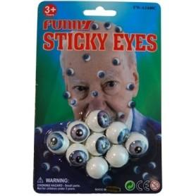 Stick-On Eyeballs - Pack of 9