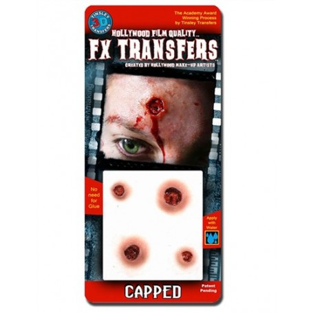 Capped 3D FX Transfer by Tinsley - Small