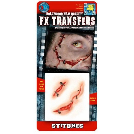 Stitches 3D FX Transfer by Tinsley - Small