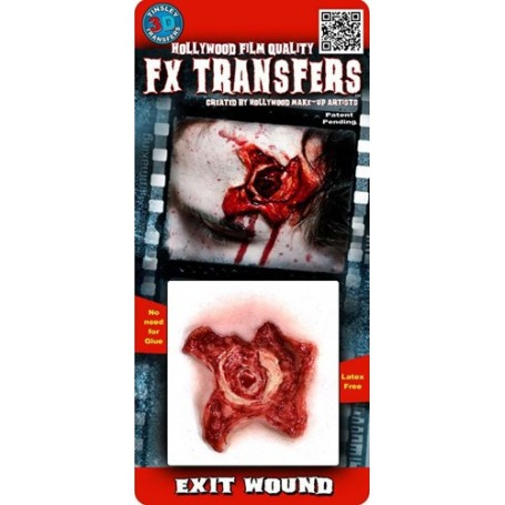 Exit Wound 3D FX Transfer by Tinsley - Small