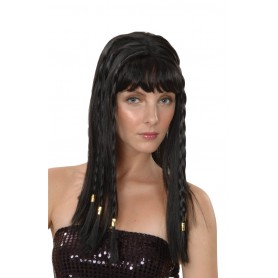 Egyptian Cleopatra with Braids - Black