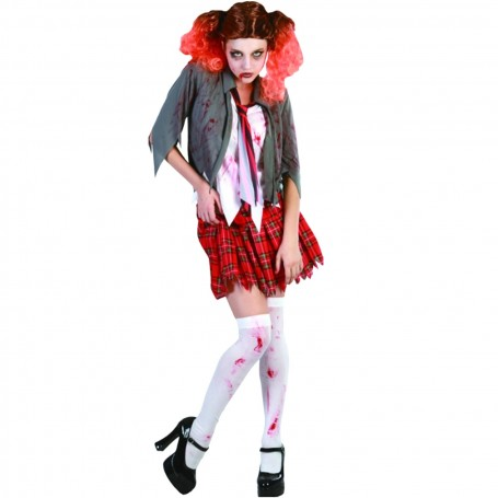 BLOODY HIGH SCHOOL GIRL COSTUME - ADULT - Large