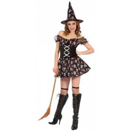 Day of the Dead Witch - Adult- Large