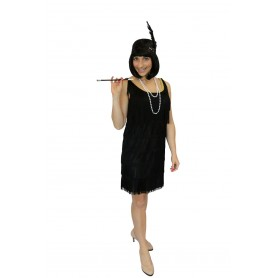 Gatsby Tassel Flapper Dress