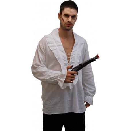 Men's Pirate Shirt - White