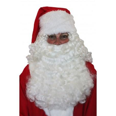 Deluxe Santa Half Wig & Beard Set