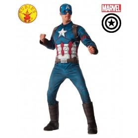 Captain America Deluxe Costume - Adult