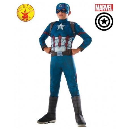 Captain America Civil War Deluxe Costume - Child