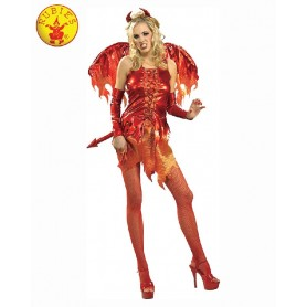 Devil On Fire Secret Wishes Costume - Adult