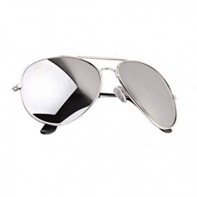 Silver Mirrored Aviator Sunnies