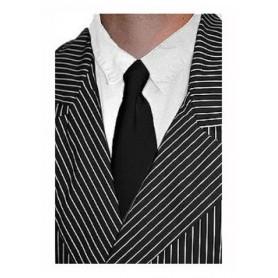 Gangster Necktie - Black