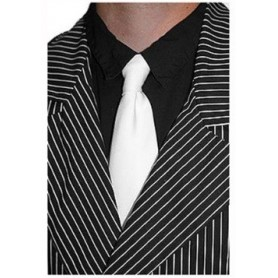 Gangster Necktie - White