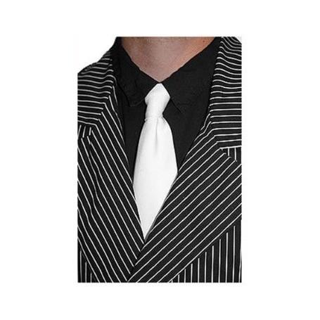 Gangster Necktie - White