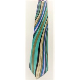 1970s Colourful Disco Tie - Wide
