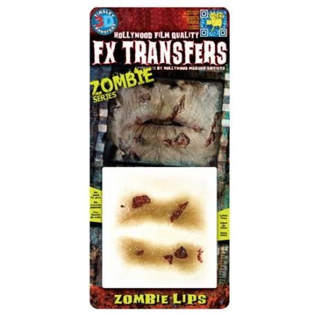 Zombie Lips 3D FX Transfer - Small