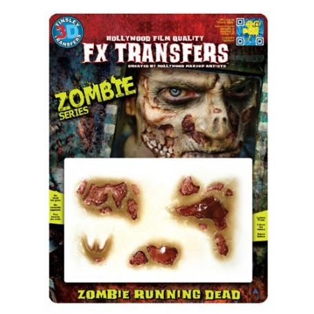 Zombie Running Dead (Flesh)