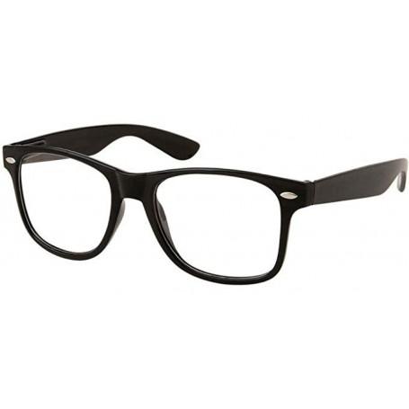 Wayne's World Garth Clear Lens Nerd Glasses