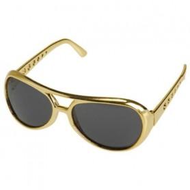 Elvis Presley Gold Sunglasses - Adult