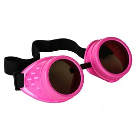 Steampunk Goggles - Pink